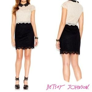 Betsey Johnson Lace Dress- Size 10